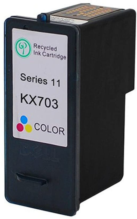 Dell KX703 / JP453 Tri-Color Remanufactured Ink Cartridge