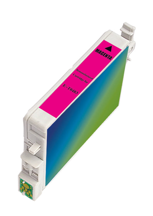 Epson T048320 (T0483) Magenta Remanufactured Ink Cartridge