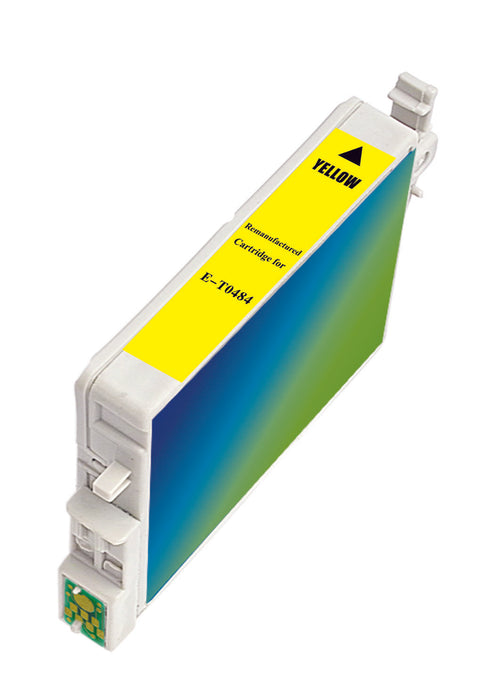 Epson T048420 (T0484) Yellow Remanufactured Ink Cartridge