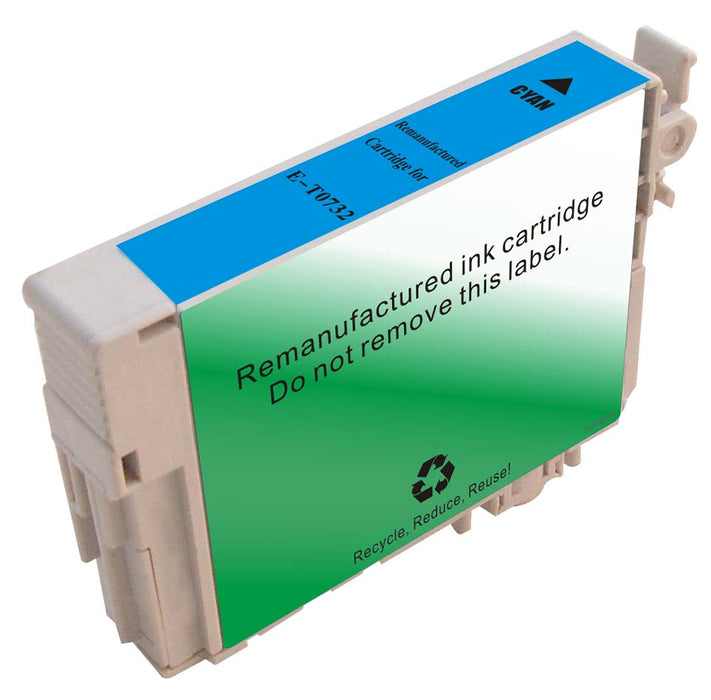 Epson T073220 (73) Cyan Remanufactured Ink Cartridge