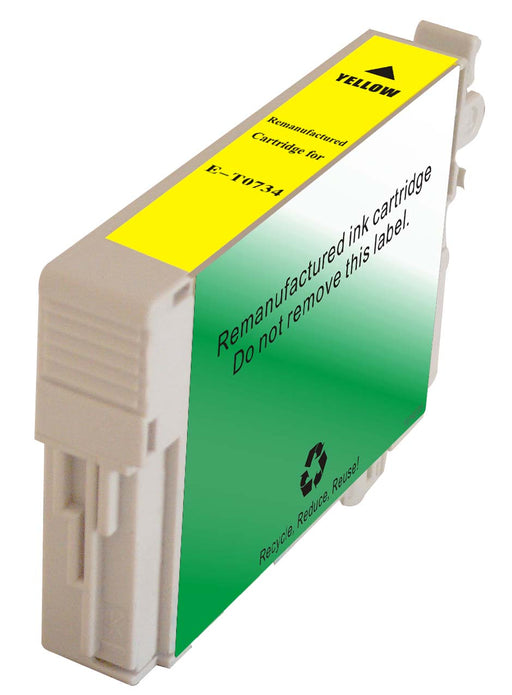 Epson T073420 (73) Yellow Remanufactured Ink Cartridge