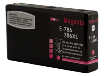 Epson T7863XL (786XL) Magenta Remanufactured Ink Cartridge