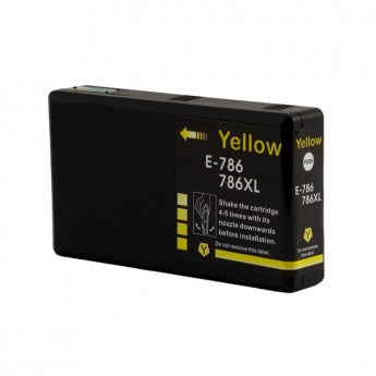 Epson T7864XL (786XL) Yellow Remanufactured Ink Cartridge