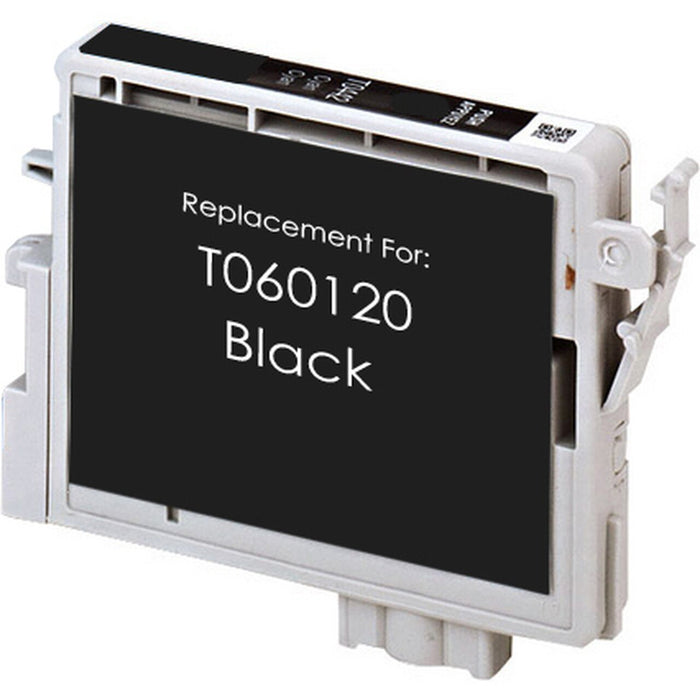Epson T060120 (60) Black Remanufactured U.S. Made Ink Cartridge