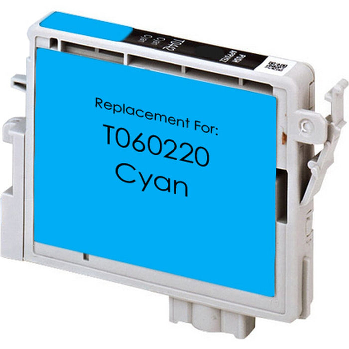 Epson T060220 (60) Cyan Remanufactured U.S. Made Ink Cartridge