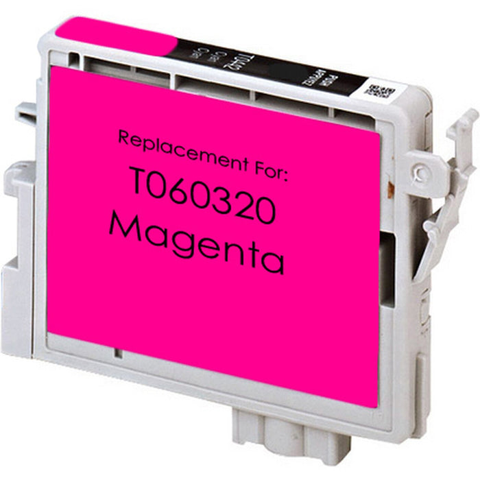 Epson T060320 (60) Magenta Remanufactured U.S. Made Ink Cartridge