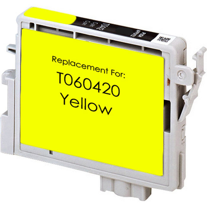 Epson T060420 (60) Yellow Remanufactured U.S. Made Ink Cartridge