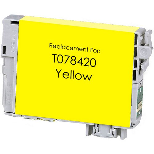 Epson T078420 (78) Yellow Remanufactured Ink Cartridge