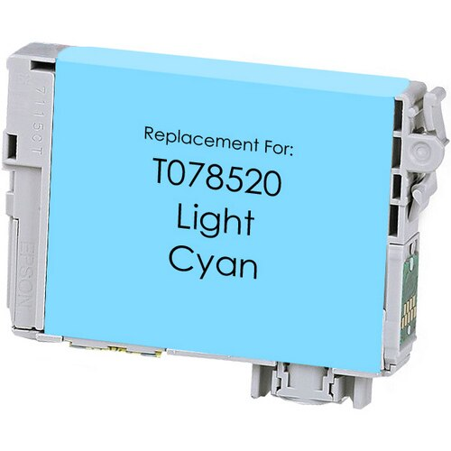 Epson T078520 (78) Light Cyan Remanufactured Ink Cartridge