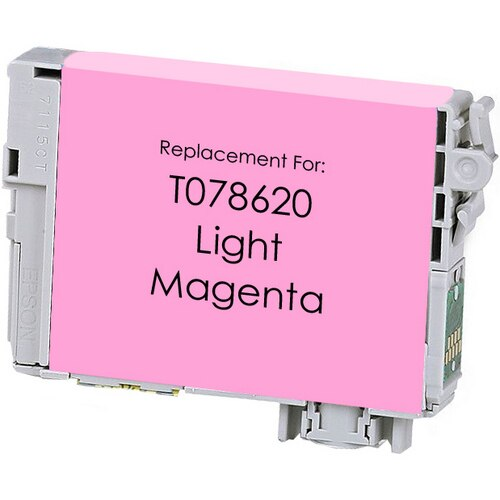 Epson T078620 (78) Light Magenta Remanufactured Ink Cartridge