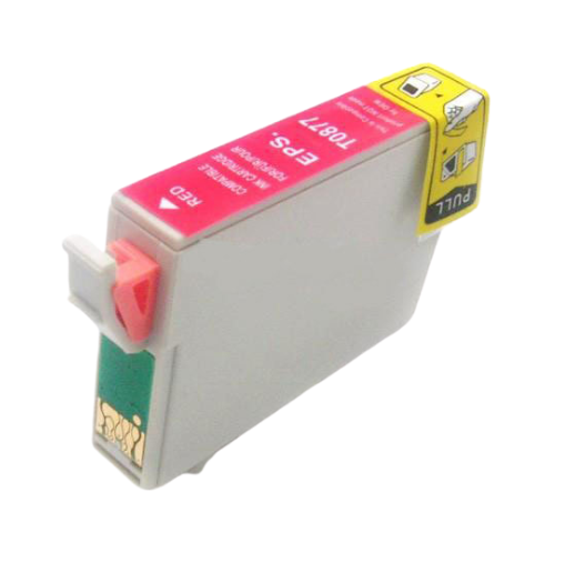 Epson T087720 (87) Red Remanufactured Ink Cartridge