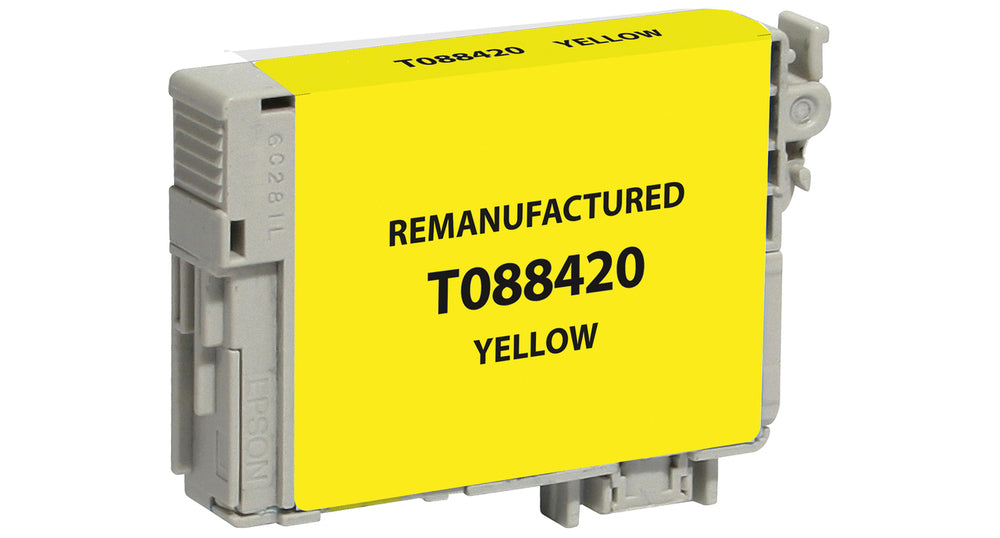 Epson T088420 (88) Yellow Remanufactured Ink Cartridge