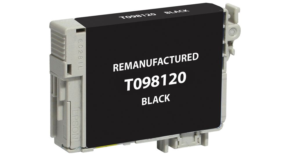 Epson T098120 (98) Black Remanufactured Ink Cartridge