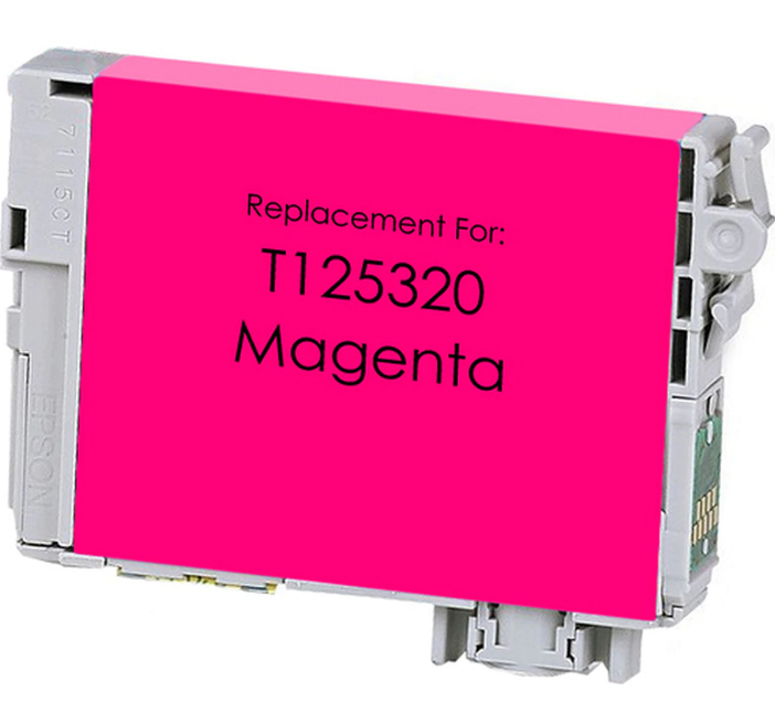 Epson T125320 (125) Magenta Remanufactured Ink Cartridge