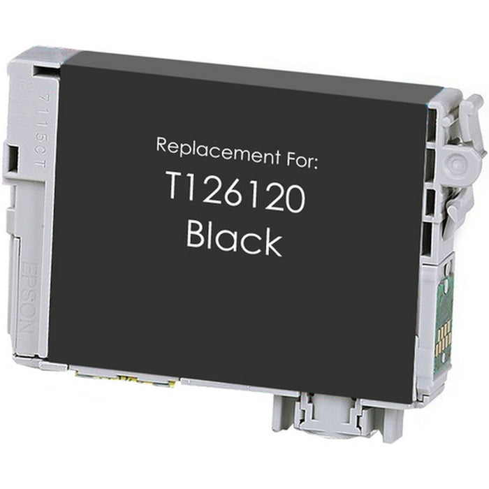 Epson T126120 (126) Black Remanufactured Ink Cartridge