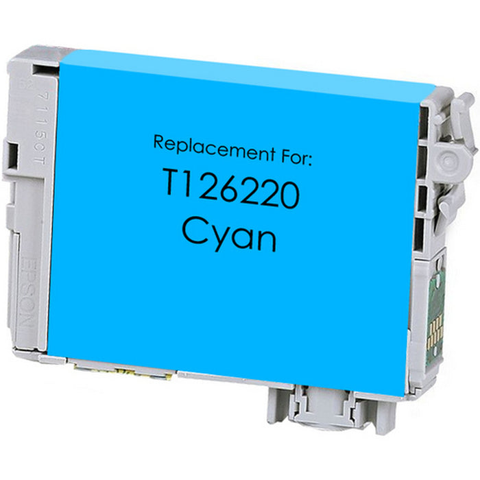 Epson T126220 (126) Cyan Remanufactured Ink Cartridge