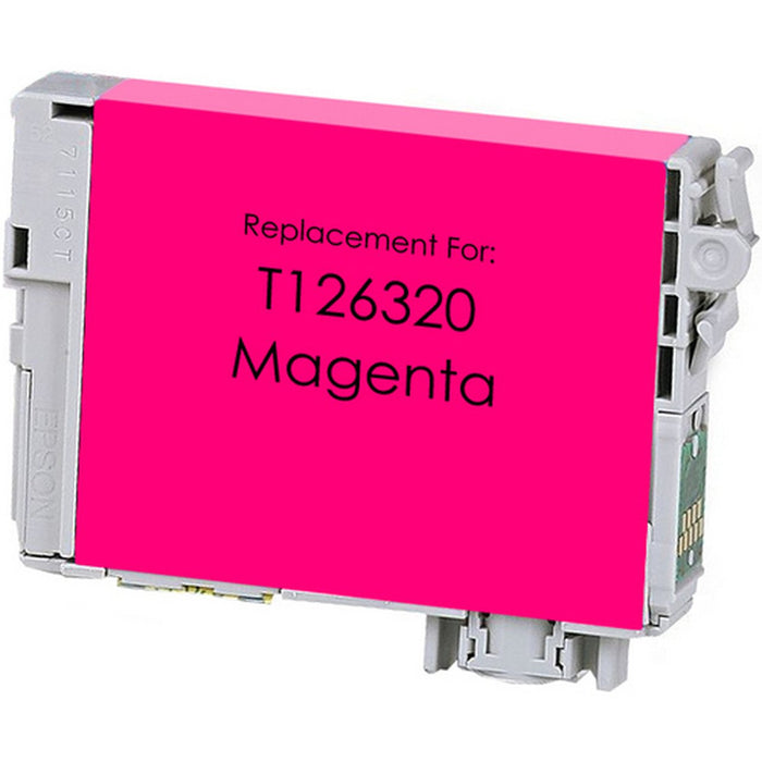 Epson T126320 (126) Magenta Remanufactured U.S. Made Ink Cartridge