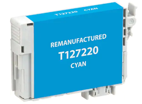 Epson T127220 (127) Cyan Remanufactured Ink Cartridge