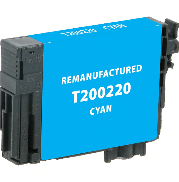 Epson T200220 (200) Cyan Remanufactured Ink Cartridge