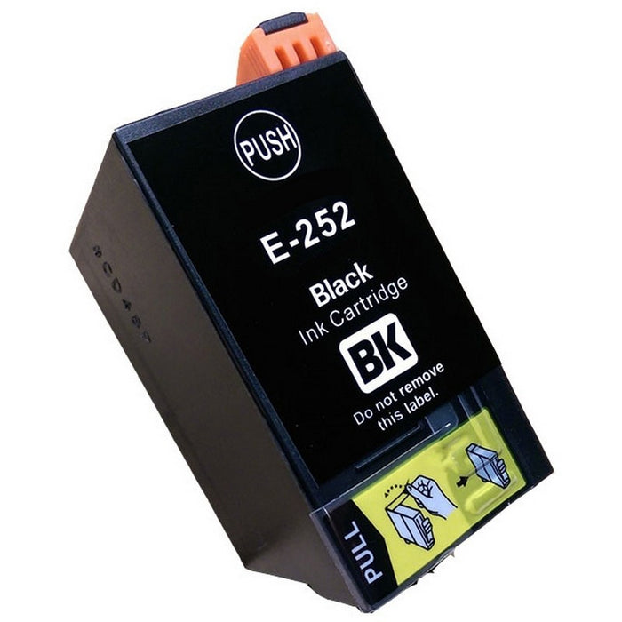 Epson T2521 (252) Black Remanufactured Ink Cartridge