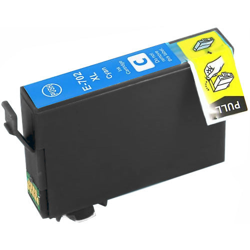 Epson T7022XL (702XL) Cyan Remanufactured Ink Cartridge