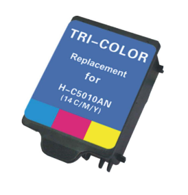 HP C5010A (HP14) Color Remanufactured Ink Cartridge