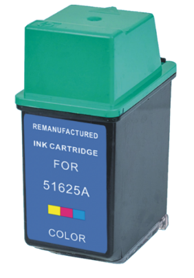 HP 51625A (HP25) Color Remanufactured Ink Cartridge