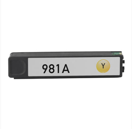 HP J3M70A (HP 981A) Yellow Remanufactured Ink Cartridge