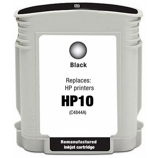 HP C4844A (HP10) Black Remanufactured Ink Cartridge