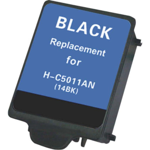 HP C5011A (HP14) Black Remanufactured Ink Cartridge