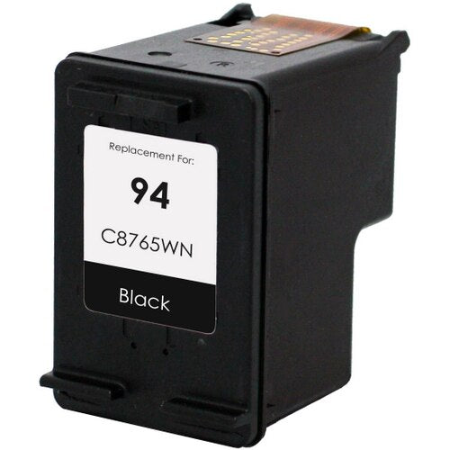 HP C8765WN (HP 94) Black Remanufactured Ink Cartridge