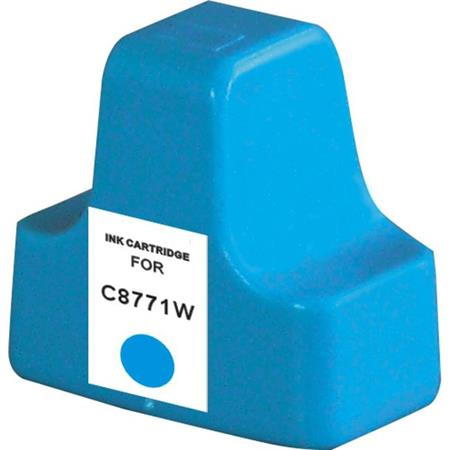 HP C8771WN (HP 02) Cyan Remanufactured U.S. Made Ink Cartridge