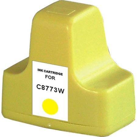 HP C8773WN (HP 02) Yellow Remanufactured U.S. Made Ink Cartridge