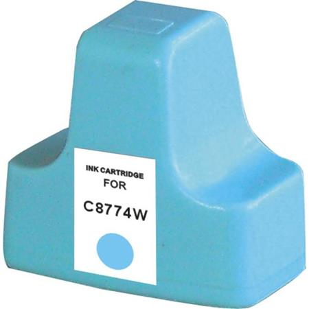HP C8774WN (HP 02) Light Cyan Remanufactured Ink Cartridge