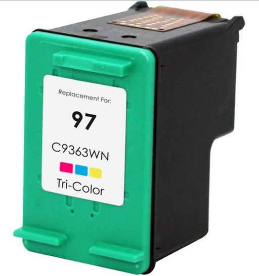 HP C9363WN (HP 97) Color Remanufactured U.S. Made Ink Cartridge
