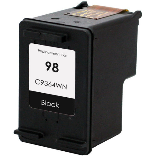 HP C9364W (HP 98) Black Remanufactured U.S. Made Ink Cartridge