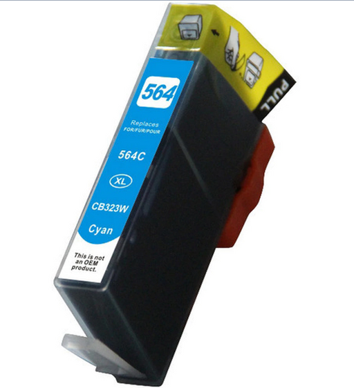 HP CB323WN (HP 564XL) Cyan Remanufactured U.S. Made Ink Cartridge