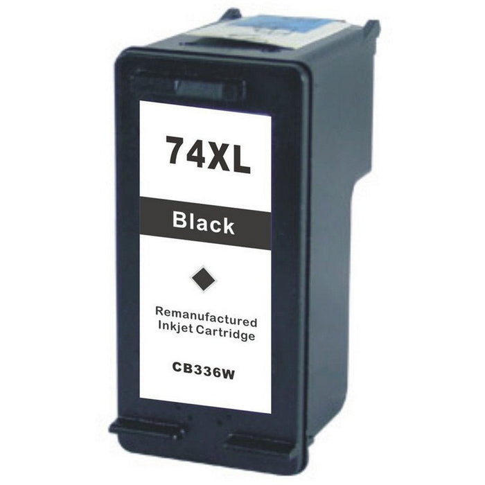 HP CB336WN (HP 74XL) Black Remanufactured Ink Cartridge