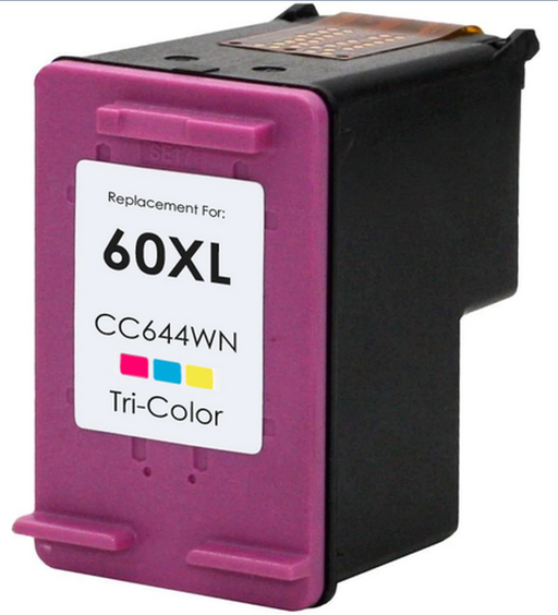 HP CC644WN (HP 60XL) Color Remanufactured Ink Cartridge