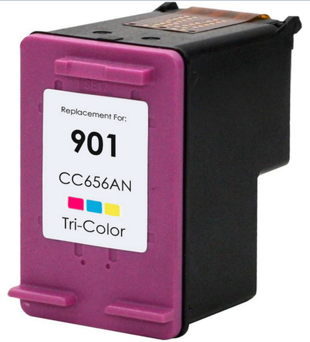 HP CC656AN (HP 901) Color Remanufactured Ink Cartridge