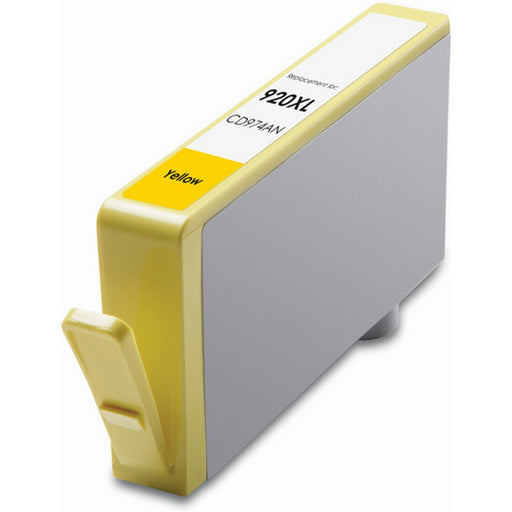 HP CD974AN (HP 920XL) Yellow Remanufactured U.S. Made Ink Cartridge