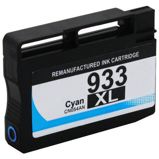 HP CN054AN (HP 933XL) Cyan Remanufactured U.S. Made Ink Cartridge