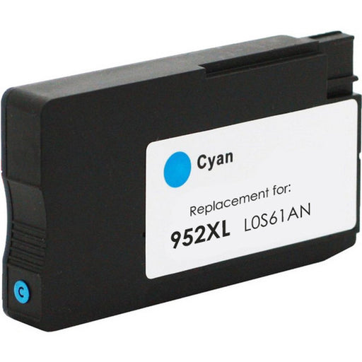 HP LOS061AN (HP 952XL) Cyan Remanufactured U.S. Made Ink Cartridge