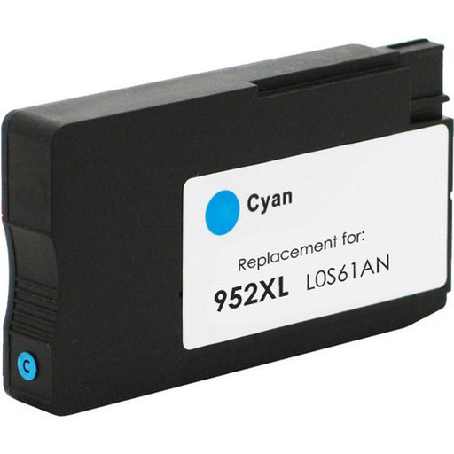 HP LOS061AN (HP 952XL) Cyan Remanufactured Ink Cartridge