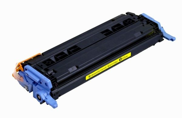 HP Q6002A (HP 124A) Yellow Compatible Laser Toner