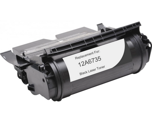 Lexmark 12A6735 Black Compatible U.S. Made Laser Toner