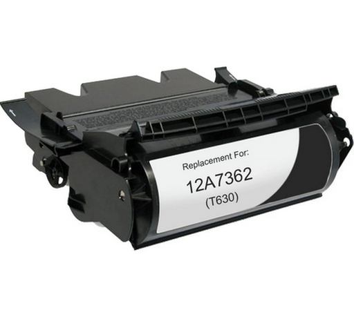 Lexmark 12A7362 Black Compatible U.S. Made Laser Toner
