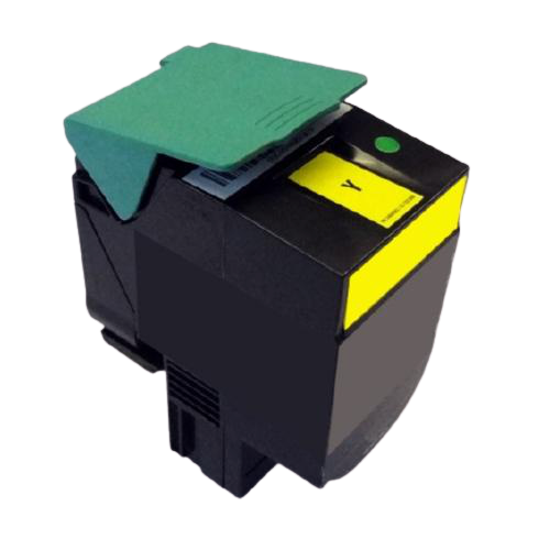 Lexmark C540H1YG Jumbo Yellow Compatible U.S. Made Laser Toner
