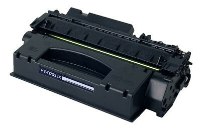 HP Q7553X (HP 53X) Black Compatible U.S. Made MICR Toner