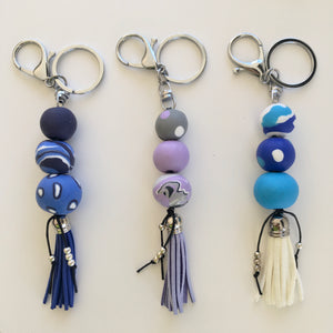 Ochiltree Designs Polymer clay keyrings